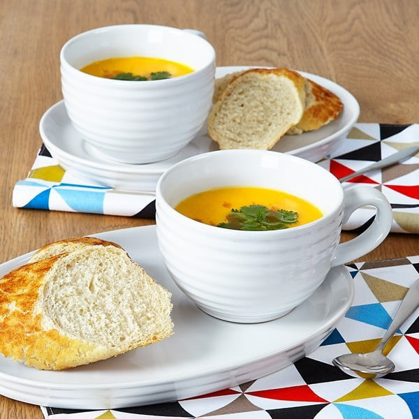 Miska na polévku s talířkem Soup and Sandwich