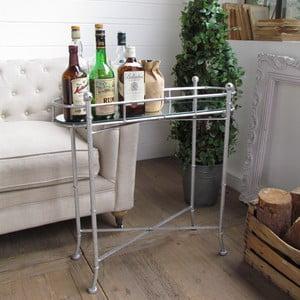 Barový stolek Silver Vintage