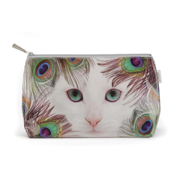 Toaletní taštička Feather Cat