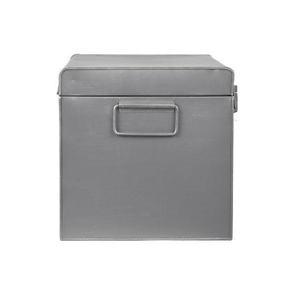 Kovový úložný box LABEL51, dĺžka 60 cm