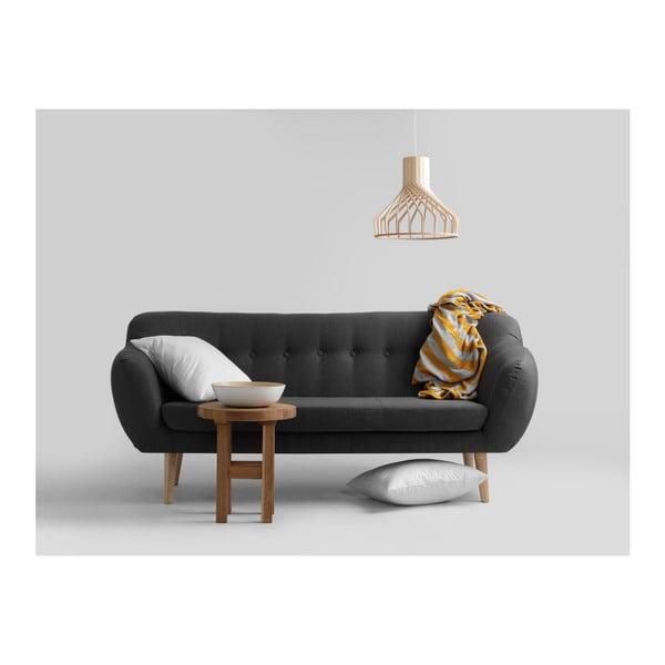 Canapea cu 3 locuri Custom Form Marget, gri închis