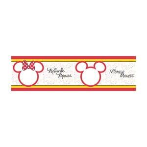 Samolepící bordura AG Design Mickey & Minnie, délka 5m