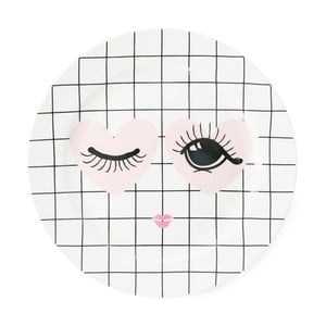 Keramický talíř Miss Étoile Heart And Eye, ⌀ 25 cm