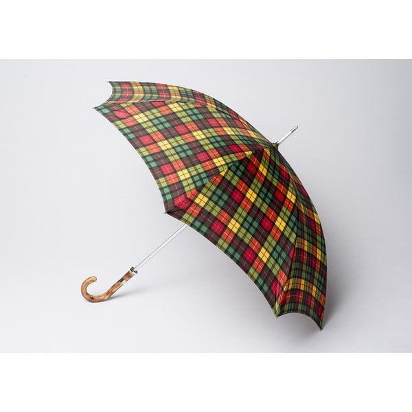 Deštník Tartan, zelený