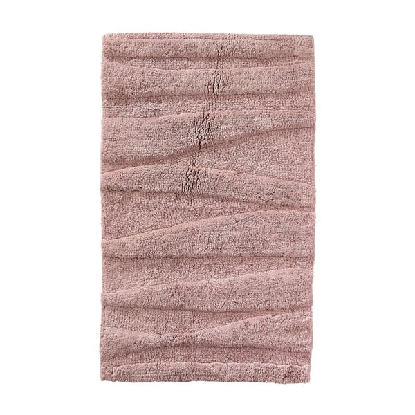 Covoraș de baie Zone Flow, 50 x 80 cm, roz închis