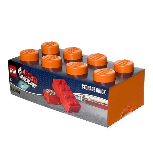 Úložný box, oranžový