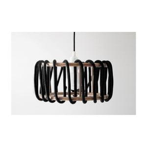 Černé stropní svítidlo EMKO Macaron, 45 cm