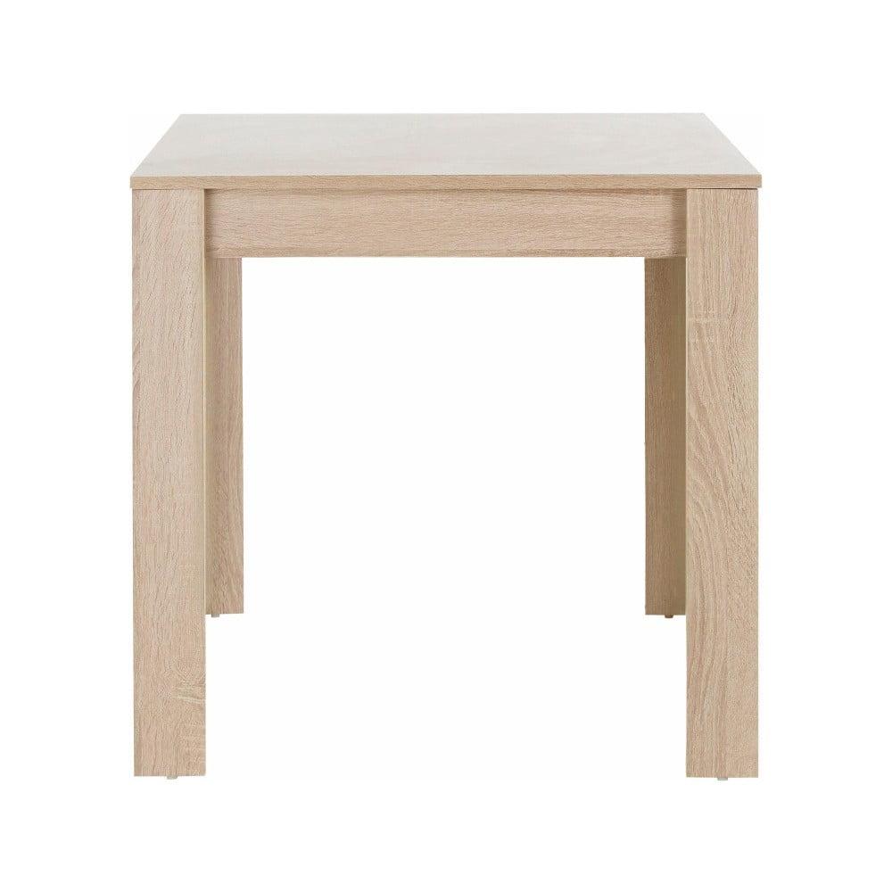 Jídelní stůl v dubovém dekoru Støraa Lori, 80 x 80 cm