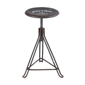 Železná stolička Clayre & Eef Bistro Paris
