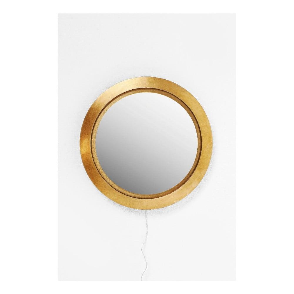 Nástěnné zrcadlo Kare Design Flash LED, Ø 60 cm