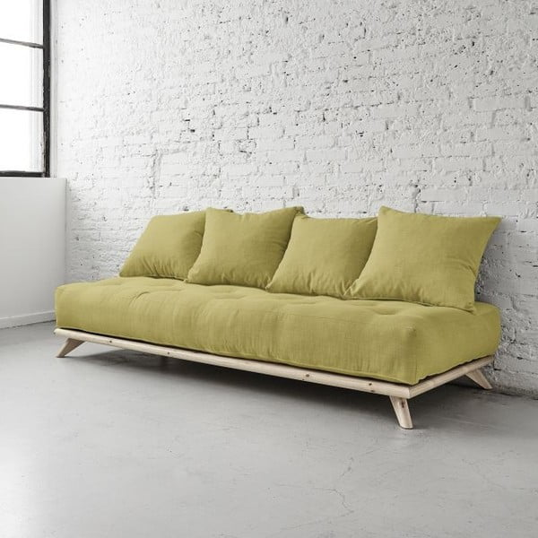 Pohovka Senza Natural/Avocado Green