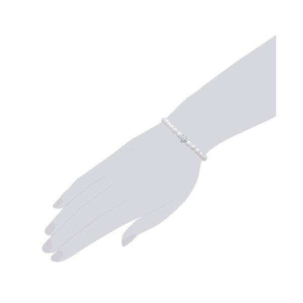 Perlový náramek Pearldesse Inès, délka 18 cm