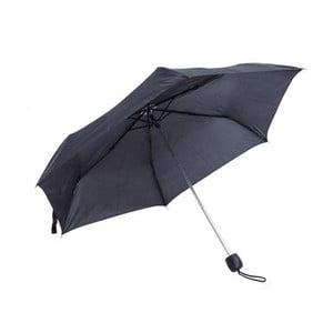 Černý skládací deštník Ambiance Light & Compact Basic, ⌀95cm