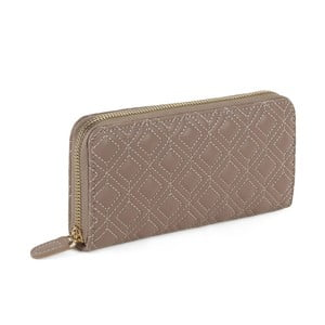 Světle hnědá peněženka z koženky Laura Ashley Beagle