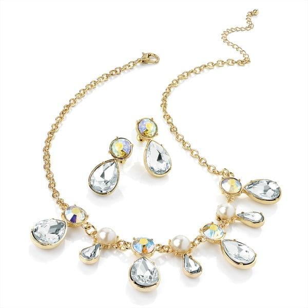 Sada náhrdelníku a náušnic Chain