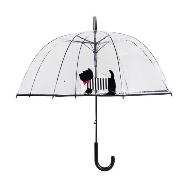 Umbrelă Ambiance Cute Dog, ⌀ 85 cm, transparent