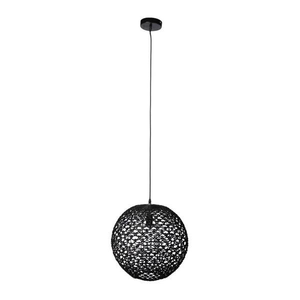 Stropní svítidlo Osier Black, 43x45,5 cm