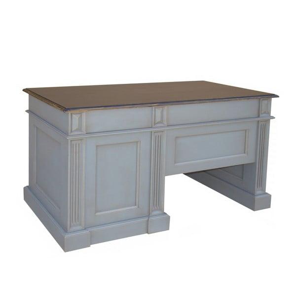 Psací stůl Transilvania Classical White, 125x60 cm