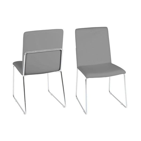 Šedá jídelní židle Actona Kitos