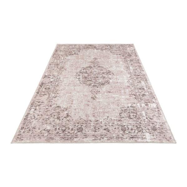 Růžový koberec Elle Decor Pleasure Vertou, 160 x 230 cm