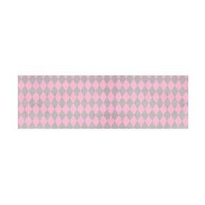 Růžovošedý běhoun Hanse Home Magic Circus, 50x150cm