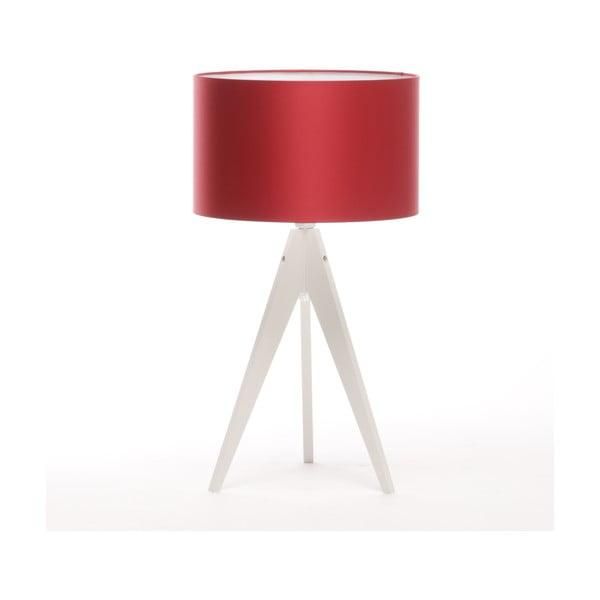 Stolní lampa Artist Red/White, 65 cm