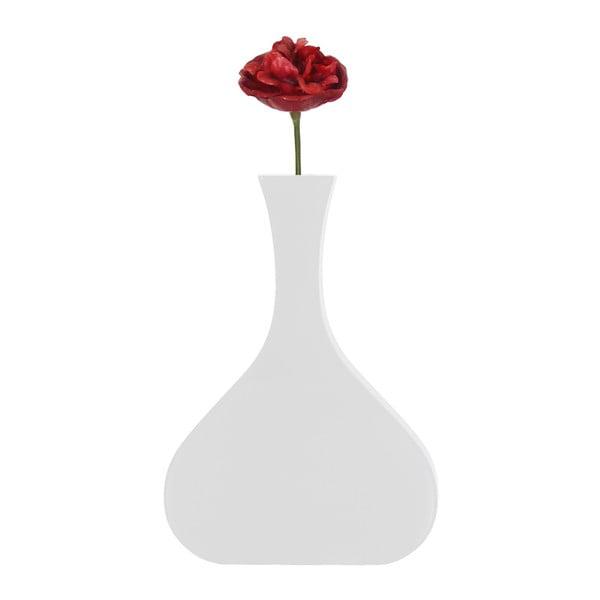 Nástěnná váza Vanity Tall White