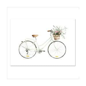 Plakát Leo La Douce Bicycle Love, 21x29,7cm