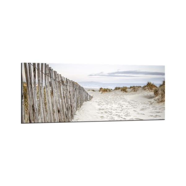 Tablou Styler Glasspik Pure Dunes, 50 x 125 cm