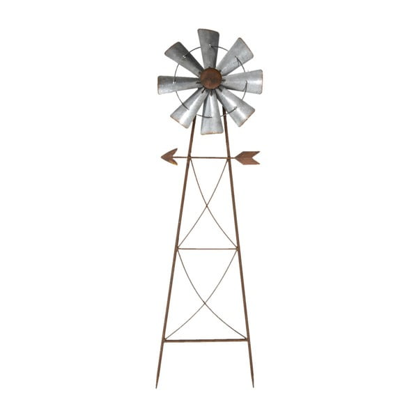Dekorativní zahradní zápich Clayre&Eef Windmill