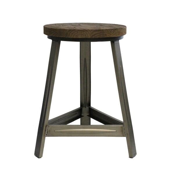 Stolička s šedými nohami Red Cartel Trapist