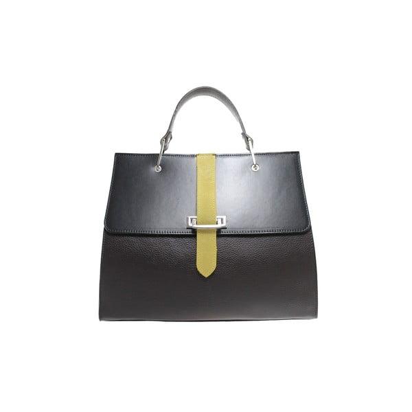 Kožená kabelka Betty Marrone/Nero/Giallo