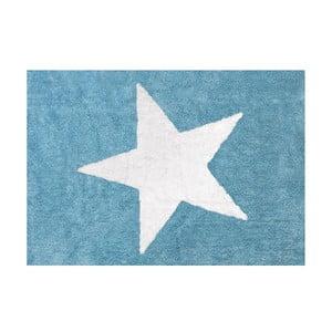 Koberec Estela 160x120 cm, modrý