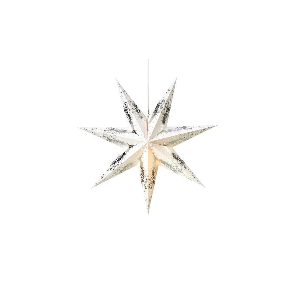 Vánoční závěsná světelná dekorace ve stříbrné barvě Markslöjd Tilde