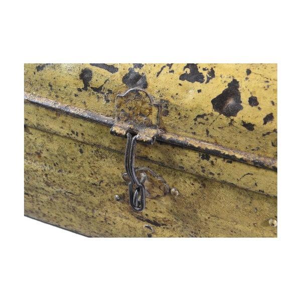 Kufr Orient 40x69 cm, žlutý
