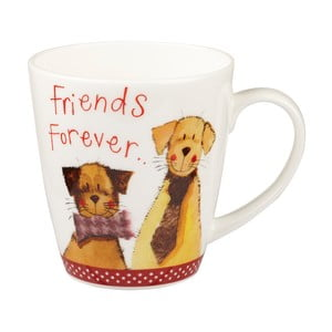 Sada 2 hrnků Churchill China Friends Forever, 360 ml