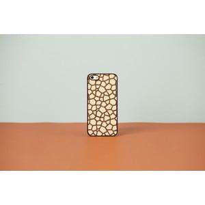 Dřevěný obal na iPhone 4 Double Essence Rock Bolivar