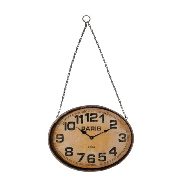 Zegar Antic Line Hanging Spirit, 41x31 cm