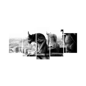 Vícedílný obraz Black&White no. 54, 100x50 cm