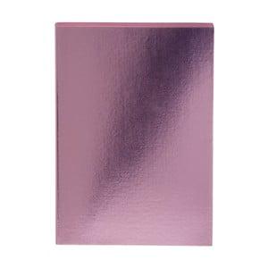 Růžový zápisník A5 GO Stationery Sweet Glam