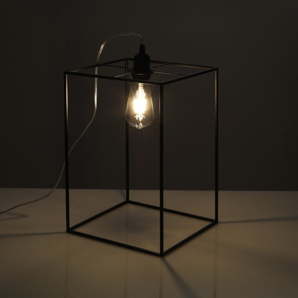 Černá stolní lampa Tomasucci Stick, 36x25x25cm