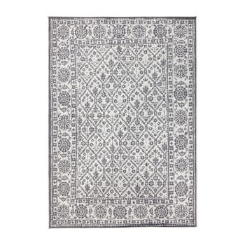 Covor reversibil adecvat interior/exterior Bougari Curacao, 120 x 170 cm, gri-crem de la Bougari