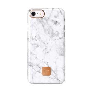 Bílo-šedý ochranný kryt na telefon pro iPhone 7 a 8 Happy Plugs Slim