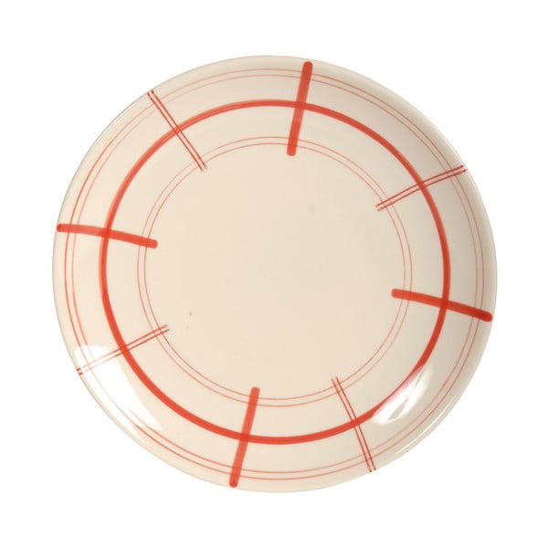 Talerz ceramiczny Antic Line Round Sharp, ⌀ 26 cm