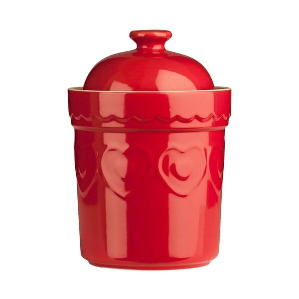 Sweet Heart piros tárolóedény, 0,8 l - Premier Housewares