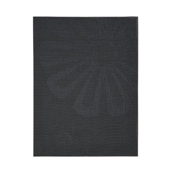 Daisy fekete tányéralátét, 30x40 cm - Zone