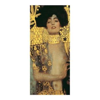 Reproducere pe pânză după Gustav Klimt - Judith, 70 x 30 cm imagine