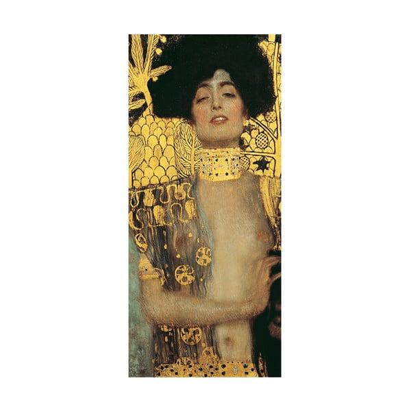 Reprodukce obrazu Gustav Klimt - Judith, 70 x 30 cm