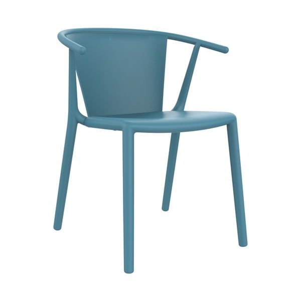 Sada 2 záhradných stoličiek v modrej farbe Resol Steely
