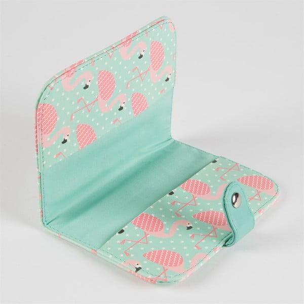 Husă pentru pașaport Sass & Belle Tropical Flamingo